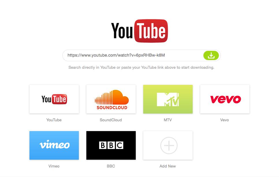 scaricare audio da youtube mac