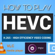 Come riprodurre/convertire video HEVC su PC Windows e Mac